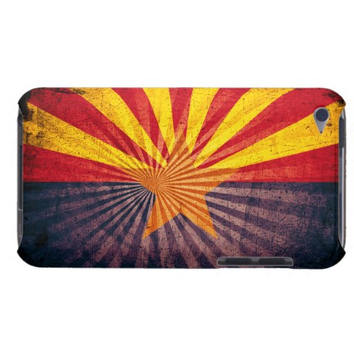 Cool Grunge Arizona Flag iPod Touch Covers