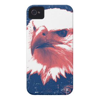 Cool Grunge Bald Eagle Case-Mate iPhone 4 Cases
