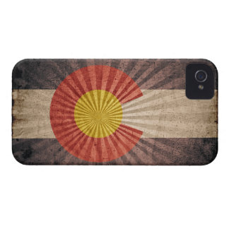 Cool Grunge Colorado Flag Case-Mate iPhone 4 Case