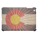 Cool Grunge Colorado Flag Cover For The iPad Mini