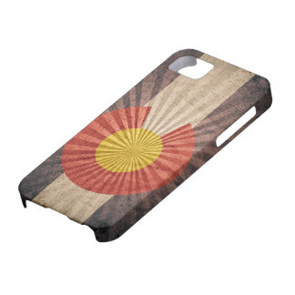 Cool Grunge Colorado Flag iPhone 5 Case