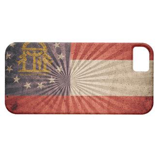 Cool Grunge Georgia Flag iPhone 5 Cases