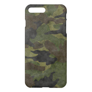 Cool Grunge Green Camo Camouflage Pattern Matte iPhone 7 Plus Case