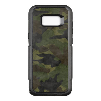 Cool Grunge Green Camo Military Camouflage Pattern OtterBox Commuter Samsung Galaxy S8+ Case