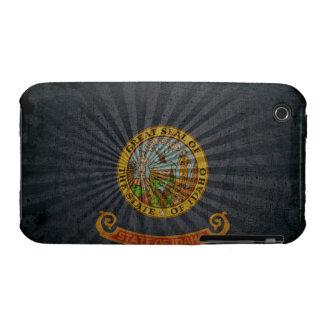 Cool Grunge Idaho Flag iPhone 3 Cover