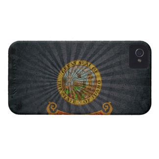 Cool Grunge Idaho Flag iPhone 4 Case-Mate Cases