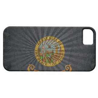 Cool Grunge Idaho Flag Case For The iPhone 5