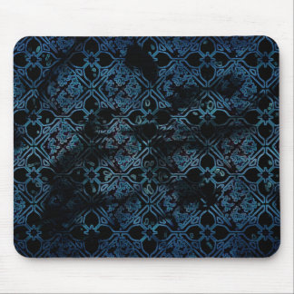 Cool Grunge Medieval Print Mousepads