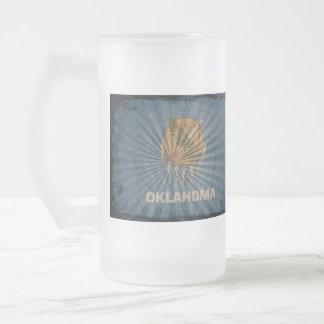 Cool Grunge Oklahoma Flag Mug