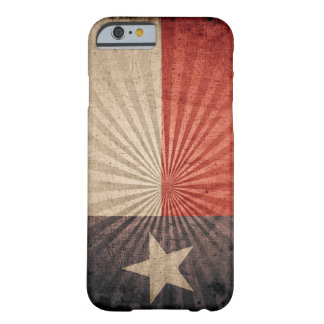 Cool Grunge Texas Flag Barely There iPhone 6 Case