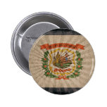 Cool Grunge West Virginia Flag Buttons