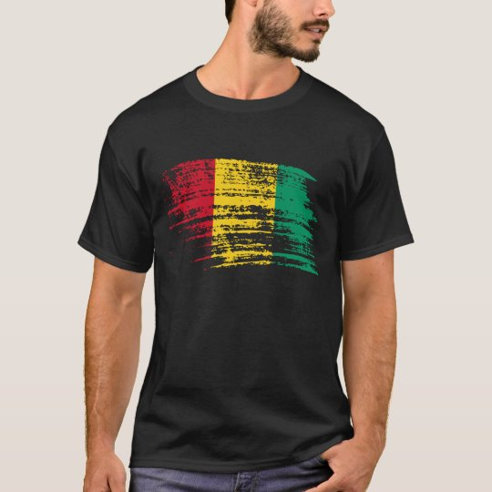 Cool Guinean flag design T-Shirt