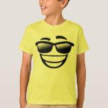 Cool guy emoji tee shirts