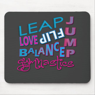 Cool Gymnastic Gifts Mousepad