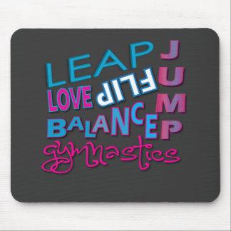 Cool Gymnastic Gifts Mousepad