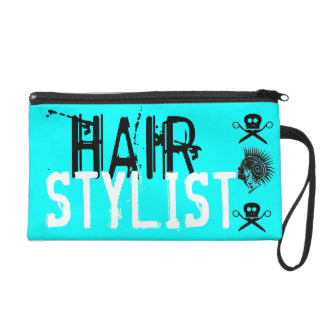 Cool Hair Stylist Scissor Holder Wristlet Purse