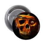 Cool Halloween Death Pumpkin Pin