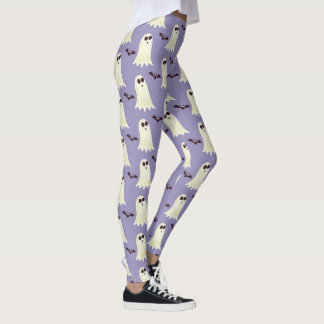 Cool Halloween Ghosts & Bats Leggings