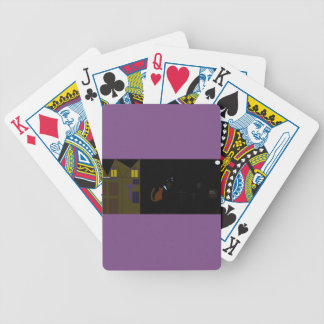 cool halloween poker card set