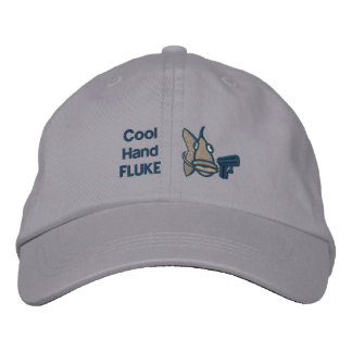 Cool Hand Fluke Embroidered Hat