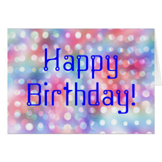 Cool Happy Birthday Greeting Card