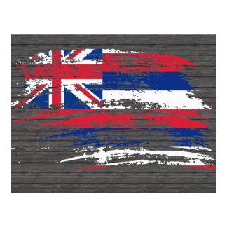 Cool Hawaiian flag design Custom Flyer