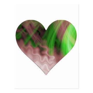Cool Heart Design Postcard