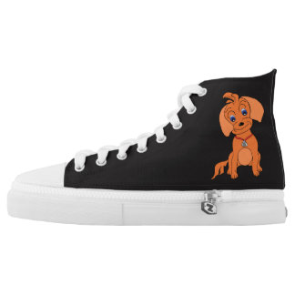 Cool High Top Shoes - Happy (Size 4-13)