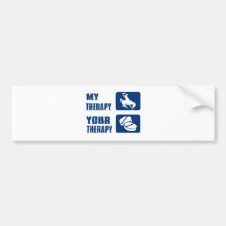 Cool Hiking designs Bumper Sticker