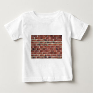 Cool Hip Hop Brick Wall Background Template Baby T-Shirt