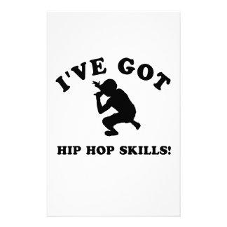 COOL HIP HOP SKILLS  designs Stationery