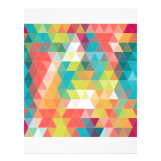 Cool Hipster Pattern 21.5 Cm X 28 Cm Flyer