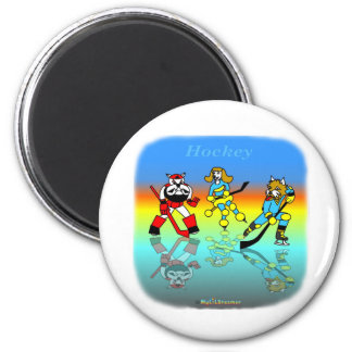 Cool hockey gifts for kids refrigerator magnets