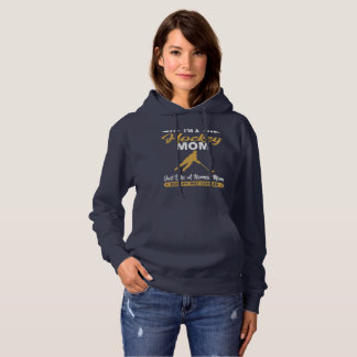 Cool Hockey Mom Gift Hoodie