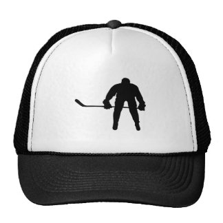 Cool Hockey Player Trucker Hat