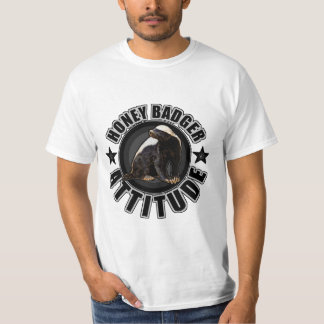 Cool Honey Badger Attitude for Unstoppable People T-Shirt