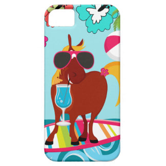 Cool Horse Surfer Dude Summer Fun Beach Party Barely There iPhone 5 Case