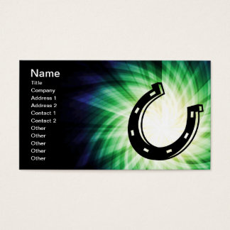 Cool Horseshoe Business Card