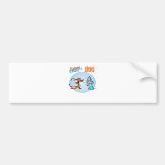 Cool Hotdog Car Bumper Sticker