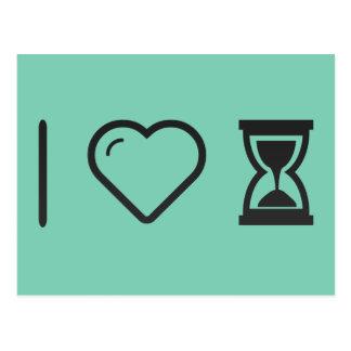 Cool Hourglass Postcard