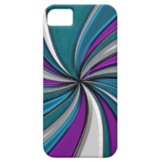 Cool Hued Winter Swirl Skins iPhone 5 Cover