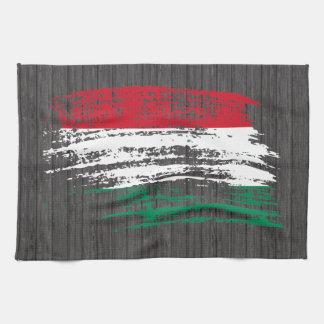 Cool Hungarian flag design Tea Towel