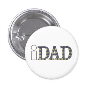 Cool i DAD Shirts Mugs Hats 3 Cm Round Badge