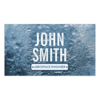 Cool Ice Age Aerospace Engineer Business Card