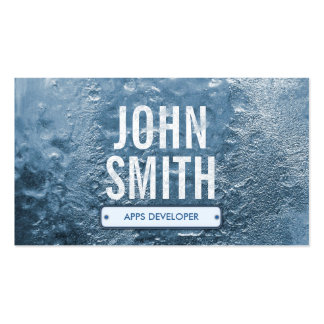 Cool Ice Age Apps developer Business Card