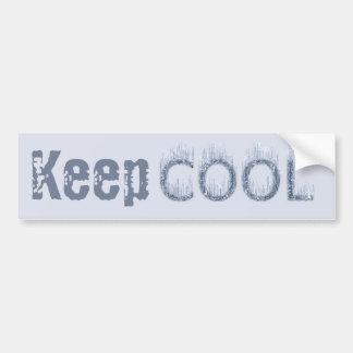 Cool - Ice Cold Design Bumper Sticker