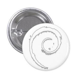 Cool Ice Debian Pin