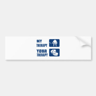 Cool Icehockey designs Bumper Sticker