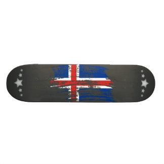 Cool Icelander flag design Skate Decks