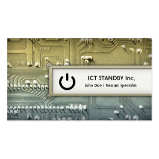Cool ICT business card Standby hardware